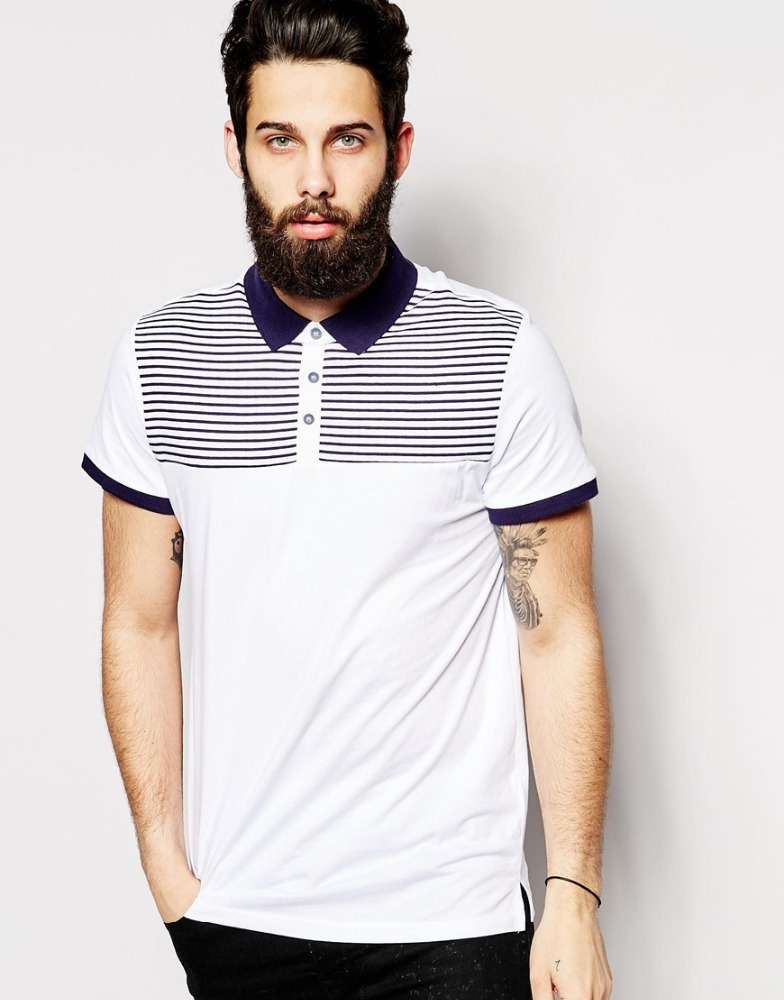 Custom new design high quality polo shirts men big size clothing