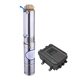 solar circulating pump set solar submersible agriculture water pump dc