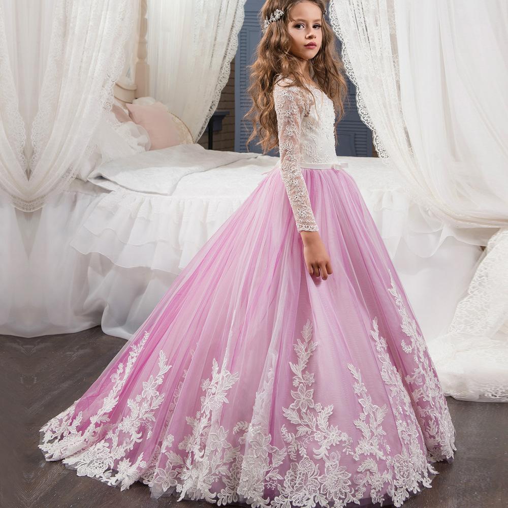 Encuentre el mejor fabricante de vestidos niñas comunion y vestidos ...