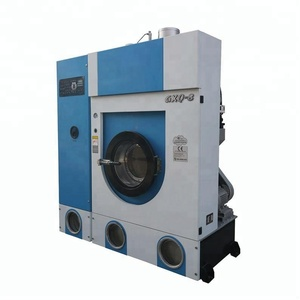 Dry cleaning and ironing machines