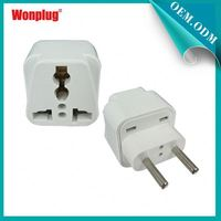2014 Small Multi-function Factory UK USA AU to EU european plug adapter