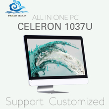 Hot on sale all-in-one pc all in one pc windows os  C1037U 2G RAM 64G SSD 18.5inch support win 7 XP system