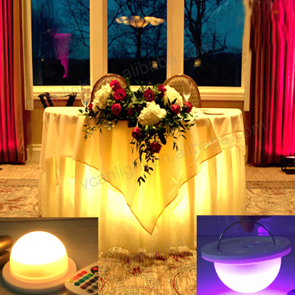 2018 New Battery Operated Color Changing Led Lights Under Table Light