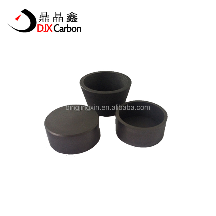 High Purity Die Molded Graphite Crucible Continuous Casting