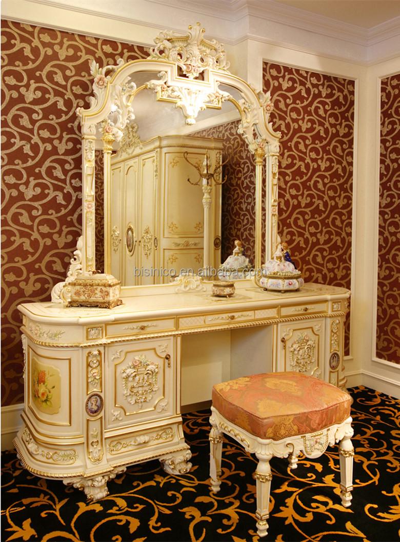 Luxe style rococo français trois porte de l'armoire de placard ...