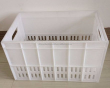 White color milk crate for sale popular PP plastic milk crates