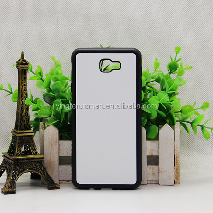 Hot selling TPU+PC groove case sublimation 2D phone case for j7 2017 фото