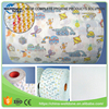 Most Clear Top Face Material diaper magic frontal tape