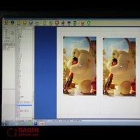 daqin mobile phone flashing vinyl sticker cutting free design software
