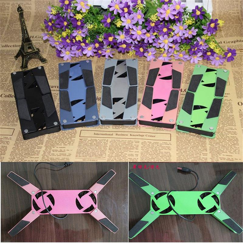 Горячая распродажа! Красочные USB мини-осьминог вентилятор кулера ноутбука охлаждающая подставка складной коллер вентилятор