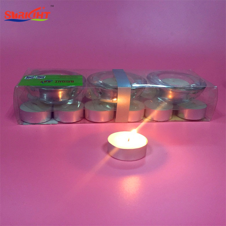 Traditional Electirc Color Wax Changing Christmas Candle
