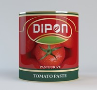 Tin Can Tomato Paste branded ketchup tomato sauce easy open