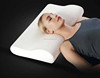 Classic head support non- smell removable velour memory foam contour pillow