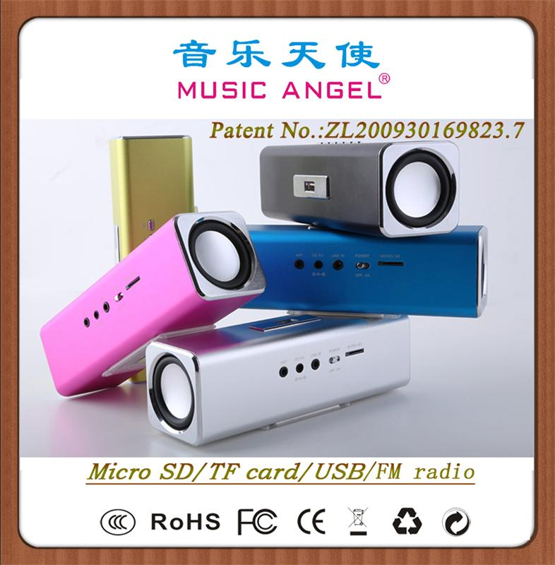 MUSIC ANGEL JH-MAUK2B headphone mini speaker components 2014 new products