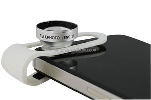 Universal Clip Telephoto 2X Zoom lens for iPhone/iPad/Macbook Air/Laptop