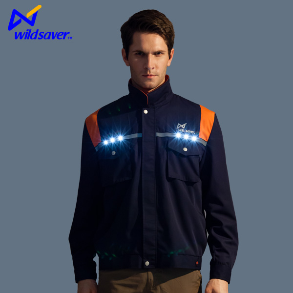 High Quality Wholesale OEM Reflective Safety Uniform for outdoors working