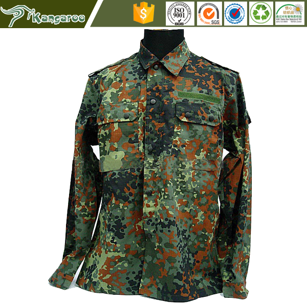Germany Training Flectarn Camouflage sell used military uniforms