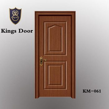 High Quality Pvc Coated Mdf Wooden Interior Doors Use For Hotel