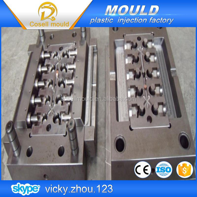 pipe fitting plastic injection mould/plastic pipe fitting mould pvc/water pipe of plastic injection mould