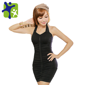 whole sale!! slimming body shaper dress ,Women make sexy underwear,female hanging neck siamese dress, free shipping NY 055