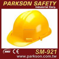Taiwan Most Safety Traditional Lightweight Comfortable Working Platform Safety Hard Hat ANSI Z89.1 CE EN397 SM-921