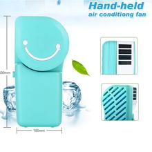 2pcs/lot Rechargeable Portable Air Conditioner Condition for Cars Mini Air Conditioner for Car-styling  Electrical Appliances