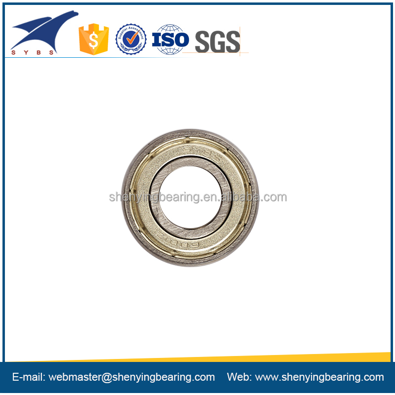 long lifespan deep groove ball bearing 6005z