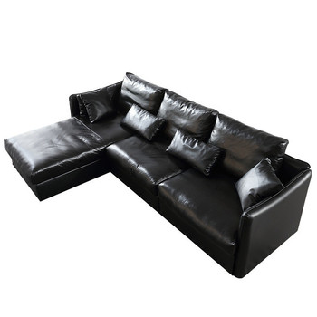 Delicieux CBMMART Luxury Living Room Hard Timber Structure Cow Leather Sofa