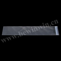 3x42cm 1100 pieces /pack clear plastic packaging poly Self Adhesive Seal Opp Bags