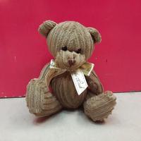 Sitting Plush Teddy Bear Stuffed Toy In Tshirt