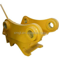 Manual quick coupler for E320 excavator bucket