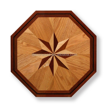style compass attachment flooring floor hardwood namaka medallion wood rose