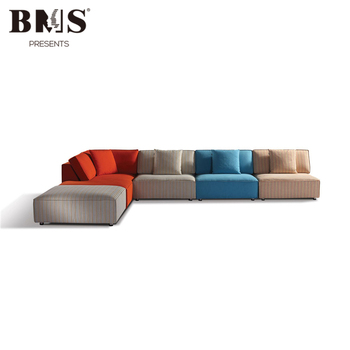 Mediterranean Style Colorful Sectional Modern Furniture Italia Sofa ...