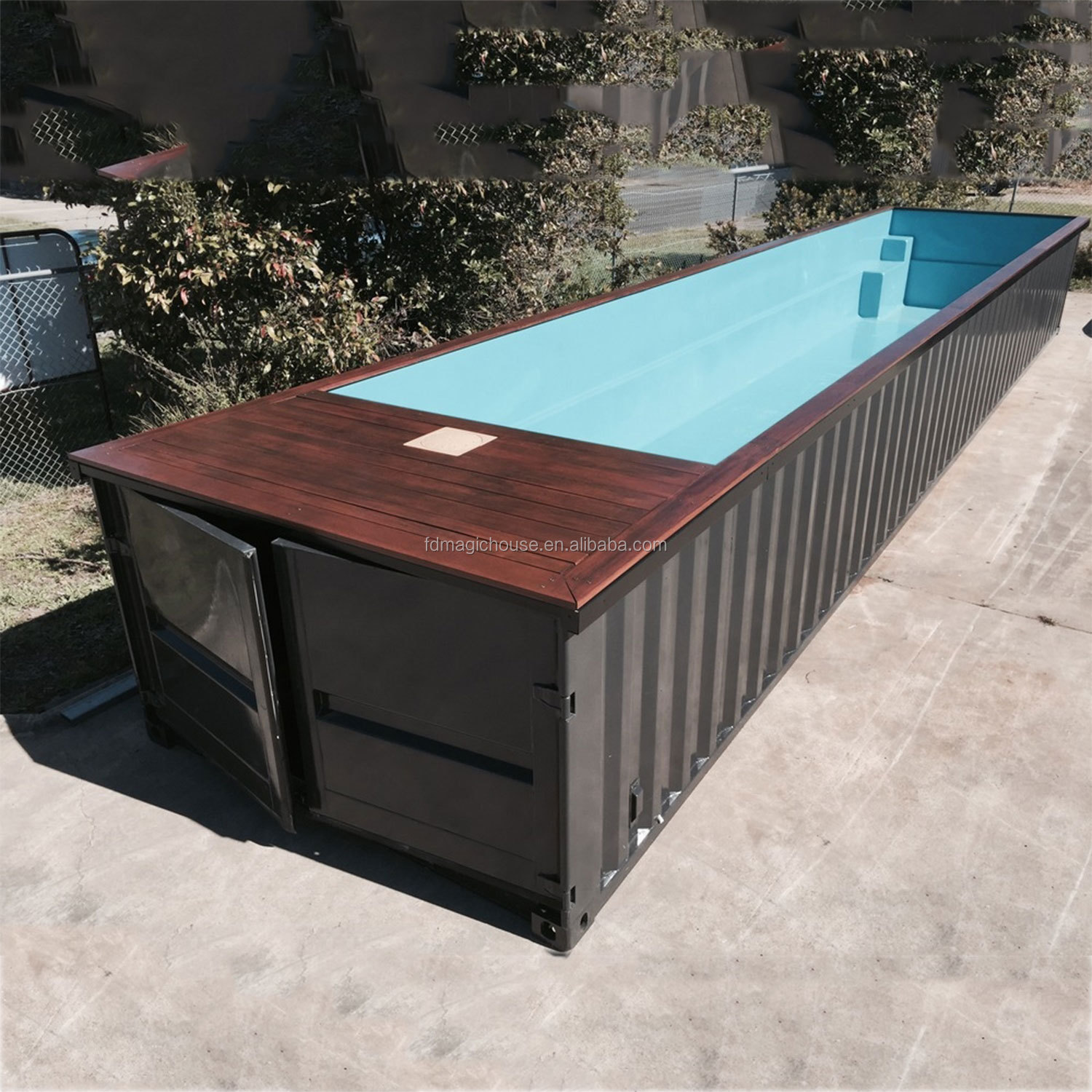 Best Quality Custom 20ft And 40 Feet Shipping Container Swimming Pool  Swimming - Buy Shipping Container Swimming Pool,Swimming Pool ...