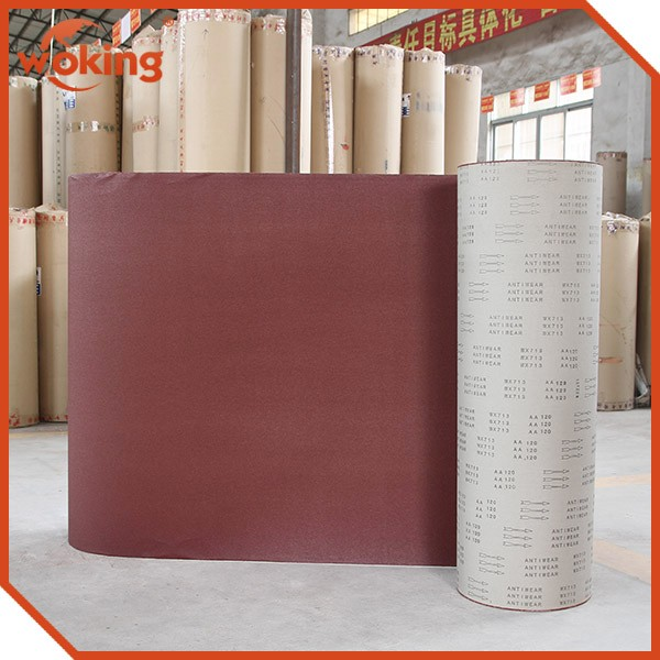 Coated abrasive cloth specially for making flap wheel(WX713)