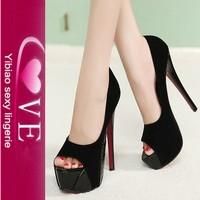 Fashion Peep Toe Ladies Platform High Heel Shoes