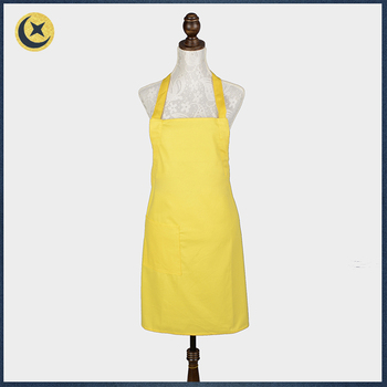 simple design colorful custom made solid yellow home depot apron rh alibaba com