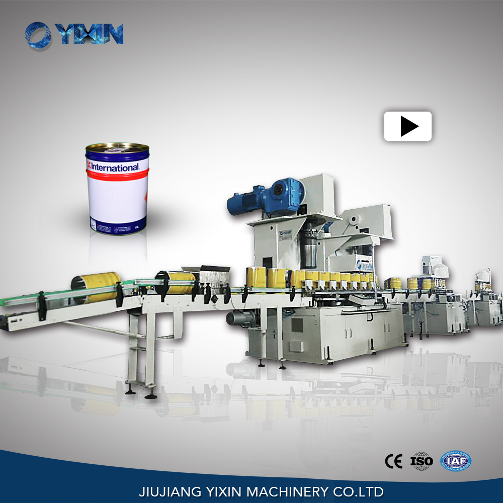 Fully Automatic Round Drum Tin Can Making Machine (Line)