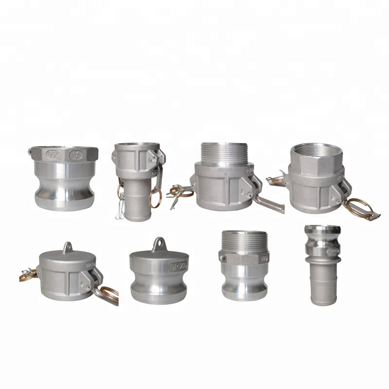 EASTOP BSP Thread Stainless Steel or Brass or PP male stainless steel camlock pipe coupling