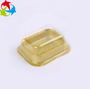 Disposable PET Transparent Blister Plastic Cake Tray