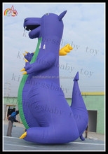 2015 giant inflatable purple cartoon characters