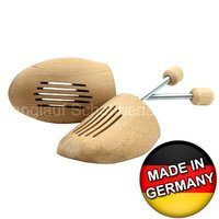 Shoe Trees made of German Beech - Wooden Unisex Shaper with Springs. High quality product made in Germany!