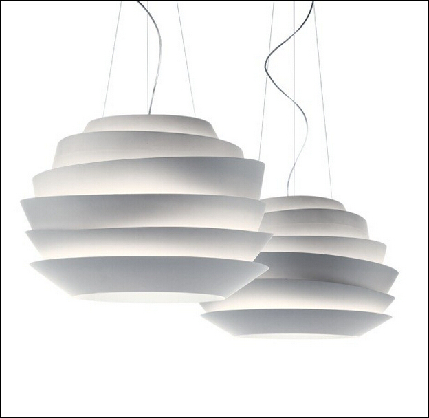 modern d40cm foscarini le soleil wave pendant lights white. Black Bedroom Furniture Sets. Home Design Ideas