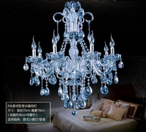 Modern Water Blue Crystal Pendant Lamp Chandelier - Buy Modern ...
