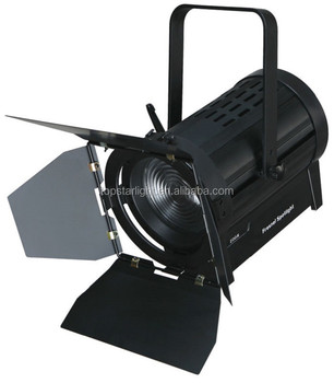 200w Led Video Spotlights Theatre Stage Light Dmx512 5000lux 50000hours Life Fresnel Spot Lights Theater