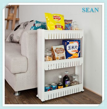 Slim Slide Pull Out Pantry Kitchen Pantry Organizer Slide Out Storage Tower