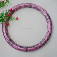 Car accessories China wholesale purple lace steering wheel cover
