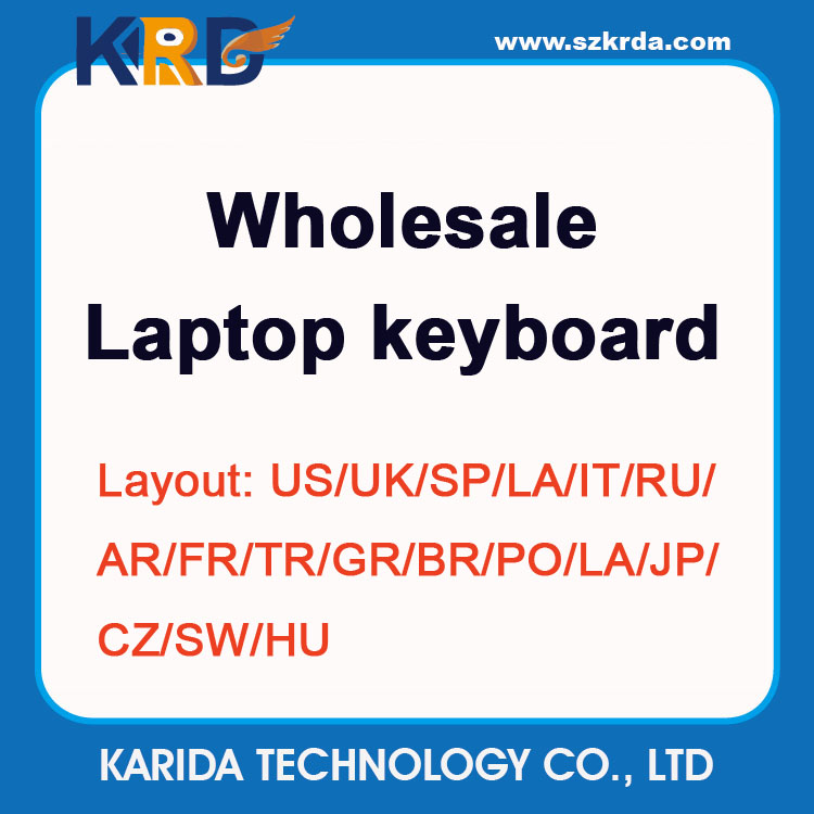 Wholesale replacement keyboard for Lenovo G500S S500 Z500 Z510 Z50 B50 laptop keyboard US/SP/LA/IT/RU/AR/TR layout