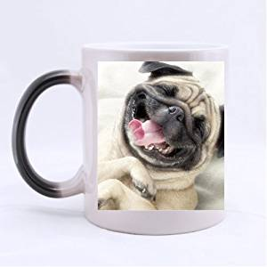 Funny Dog Customized Morphing Mugs Printing Twin Sides