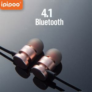 Ipipoo Il93Bl Magnet Hot Sales In Ear Running Ear Buds Sports Ear Phones Wireless Bluetooth 4.1 Head Sets